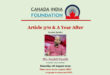 Canada India Foundation To Conduct Interactive Webinar On Article 370 & A Year After Keynote Speaker Mr.Sushil Pandit, Co-founder On 8th August