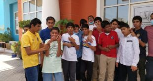 Rotary Club Of Dubai Jumeirah Comes Forward To Support Senses NGO Distributed Clothes During Ramdan Among Children