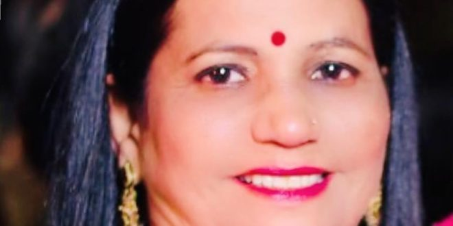 Mrs Santosh Sharma Inner wheel Club District Chairman 2020-21 ,appointed as North India Chapter 1 Head Hello Womeniya. Com